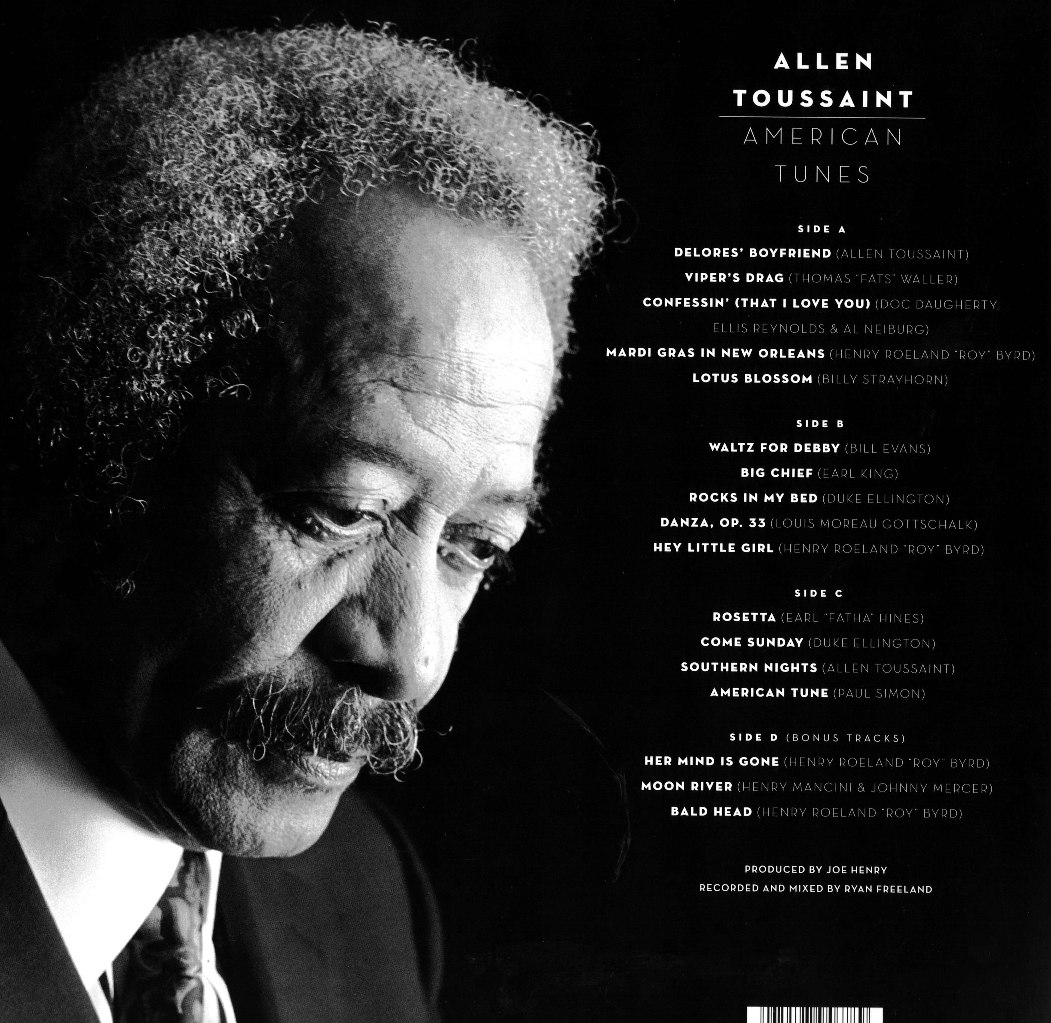American Tunes (LP Back)