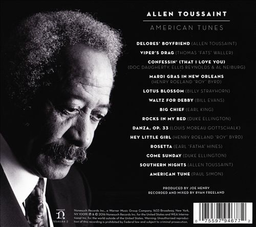 American Tunes (CD Back)