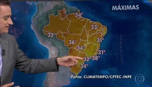 ブラジルー秋なのに真夏並みの暑さ1