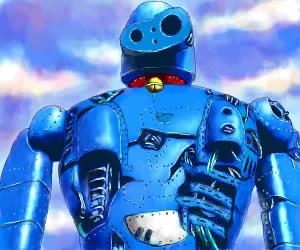 ラピュタのロボット兵風(もさるさんさんのイラスト)