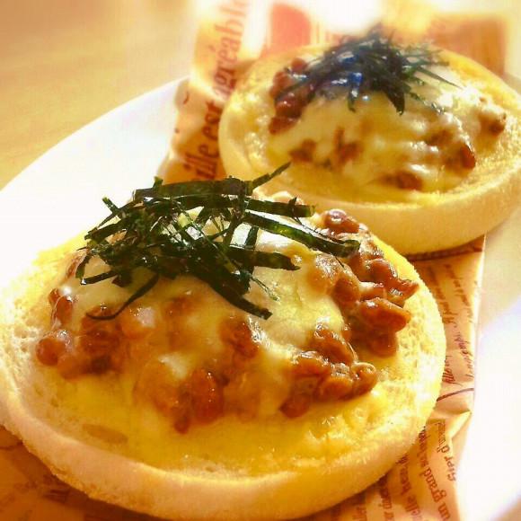 イングリッシュマフィン納豆