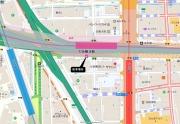 難波駅付近(南都銀行 大阪支店)