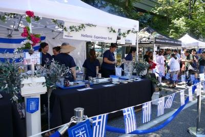 Greek Day Tent