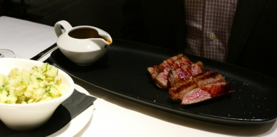 Wagyu at Blue Water Cafe