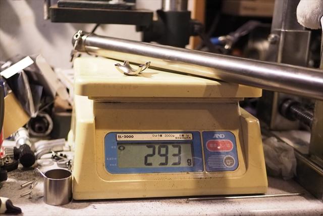 brompton リンエイ チタン シートポスト  重量