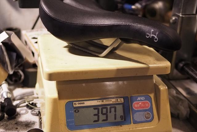 brompton ノーマル サドル 重量