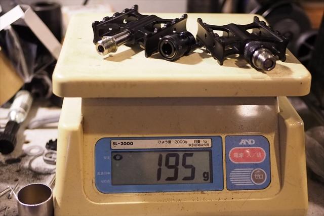 ブロンフィケーション qrペダル ホルダー 重量