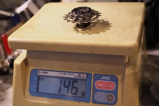 brompton ノーマルフリーボディ 11-13-17t 重量 3s