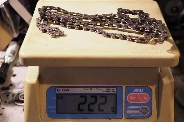 デュラ 11s CN-9000 チェーン 重量