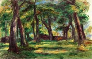 sannou museum Paysage (les arbres)