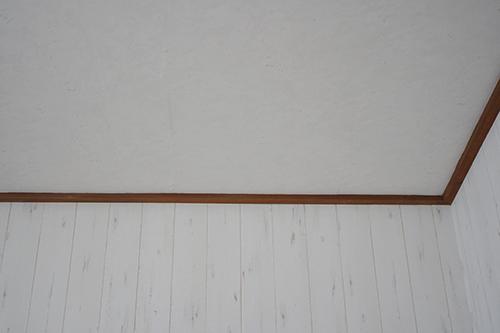 新しい壁と天井
