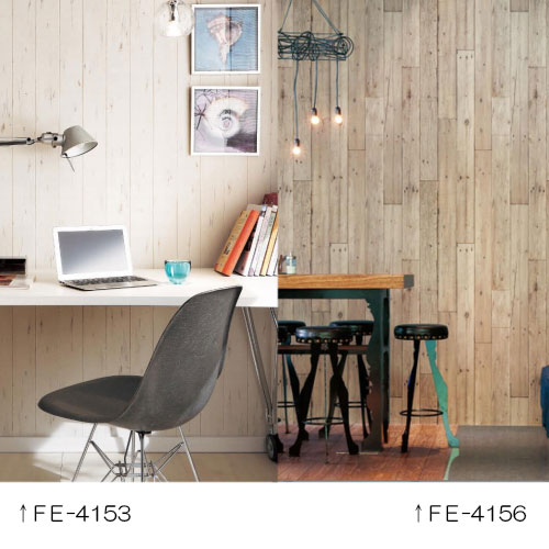 サンゲツの白木風壁紙FE4153