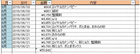 2016-6消耗品