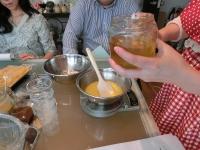 オレンジクリームにも蜂蜜