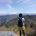 夫婦山から立山連峰