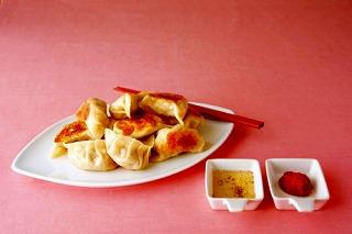 白菜漬けの餃子(うちやまさん)