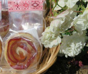 薔薇のりんごパイ2