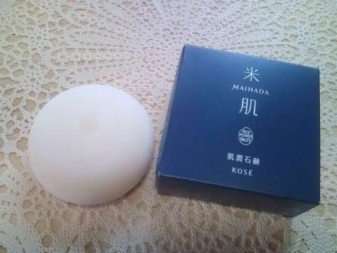 米肌 肌潤石鹸