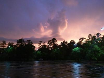 27日:テキサス州ヒューストンclouds-houston-sunset-2