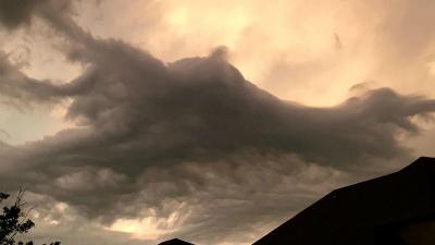 27日:テキサス州ヒューストンclouds-houston-sunset-7