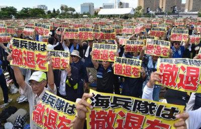 04b20fc17227e2沖縄県民大会、6万5千人が追悼