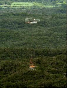 Cr9IJ7OVYAEMz大型特殊ヘリで重機運搬開始