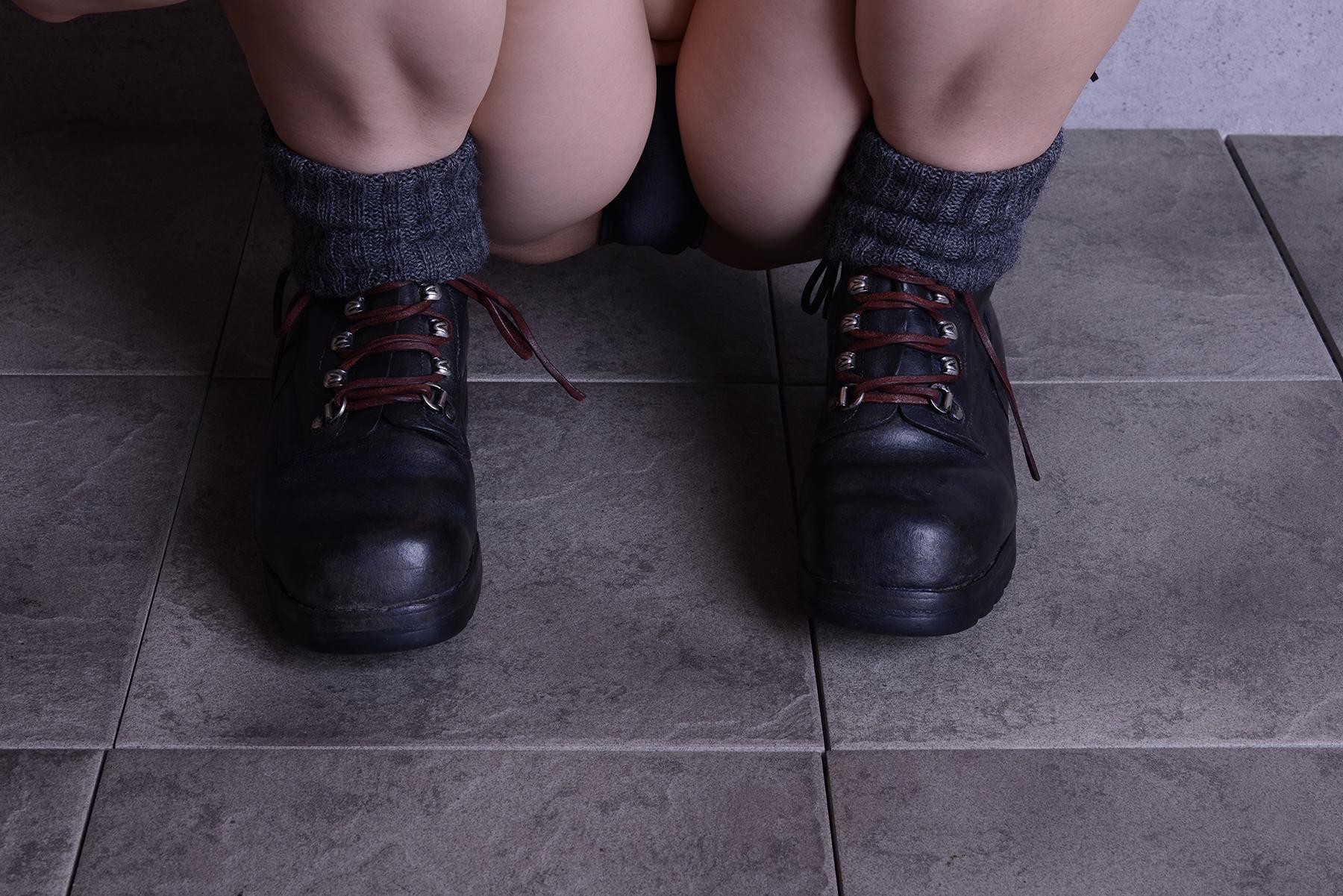 山岳靴/スイス軍代用