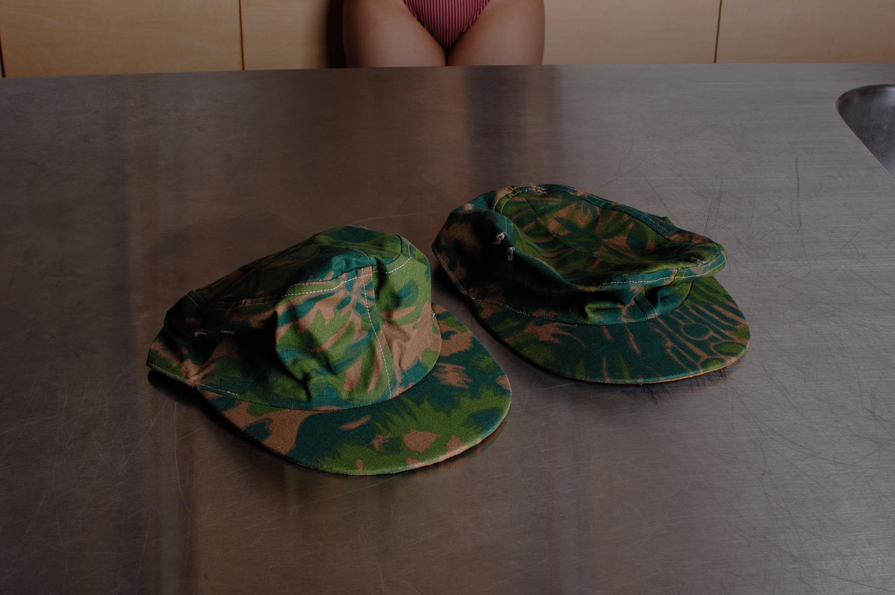 SS 迷彩規格帽