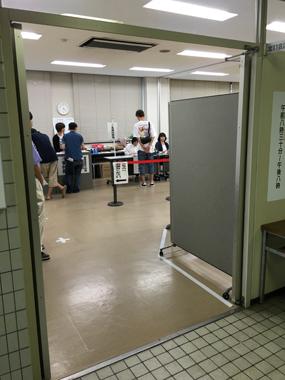期日前投票 参議院選挙 豊川 花屋 花夢