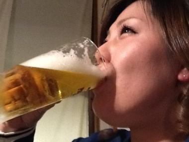 猛暑 夏 ビール 豊川 花屋 花夢