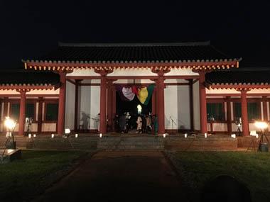 天平ロマンの夕べ 祭り 豊川 花屋 オーナー 花夢