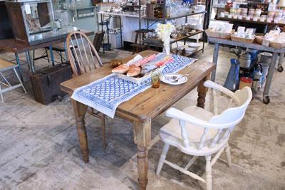 オールドパイン ダイニングテーブル アンティーク カフェ 店舗什器