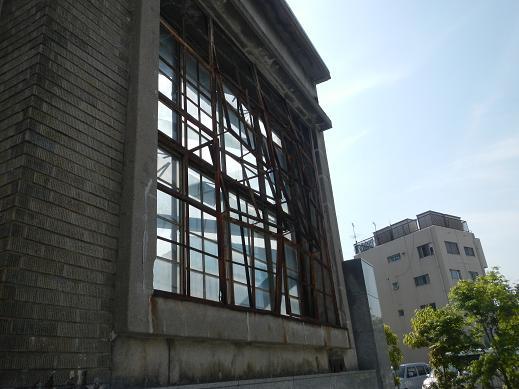 広島赤十字病院窓枠