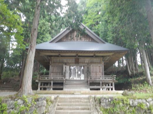 戸隠神社-火之御子社