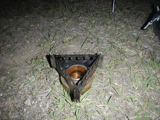 トランギアアルコールストーブ