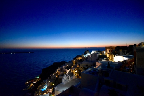 Magic Hours from Oia Villa