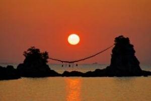 糸島・二見ケ浦夫婦岩1