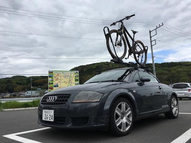 アウディ TT 自転車 車載