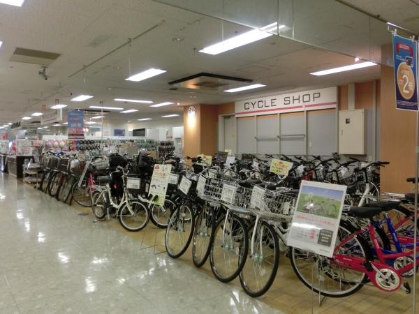 4階自転車