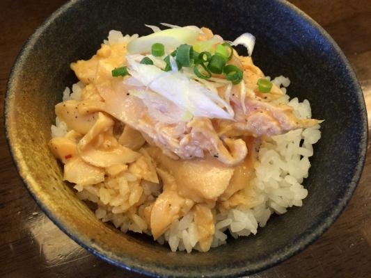 鶏チャー丼