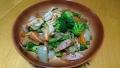 海老と野菜の炒め物 20160813