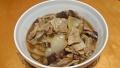 豚バラの黒酢煮 20160418