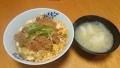 かつ丼 20160510
