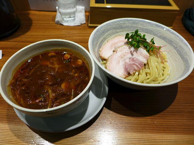 らぁめん 真@02カレーつけ麺 1