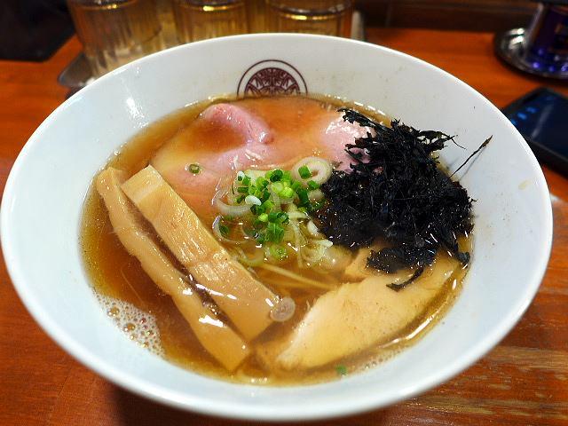 らぁ麺 とうひち@05煮干魚介らぁ麺 1