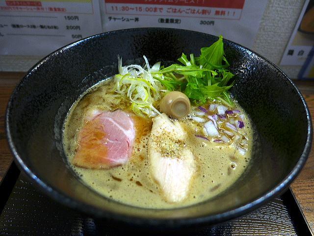 ラーメンhouse マイペース@02濃厚とりぱいたん醤油ラーメン 1