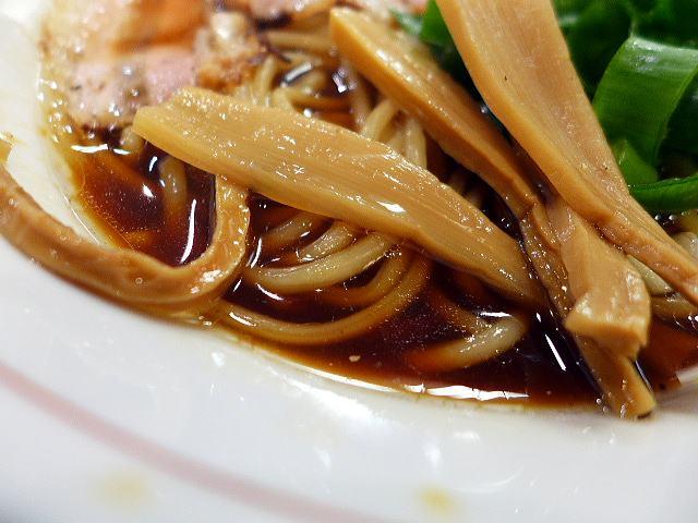 醤油と貝と麺 そして人と夢@01中華そば 2