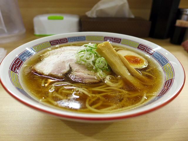 煮干鰮らーめん 圓 名古屋大須店@01煮干しらーめん 1