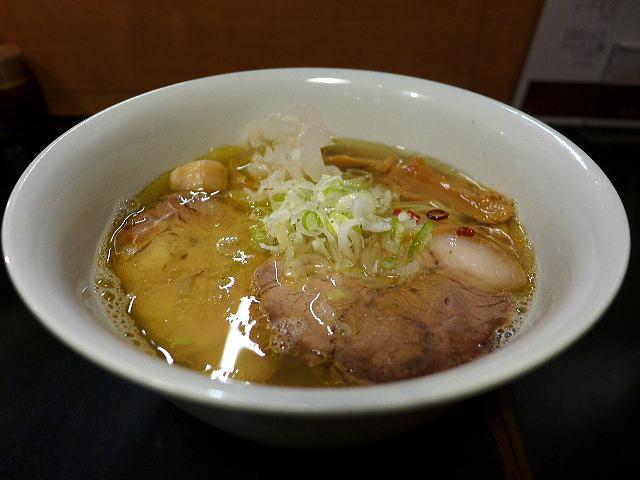 鶴麺@03塩煮干しそば 1