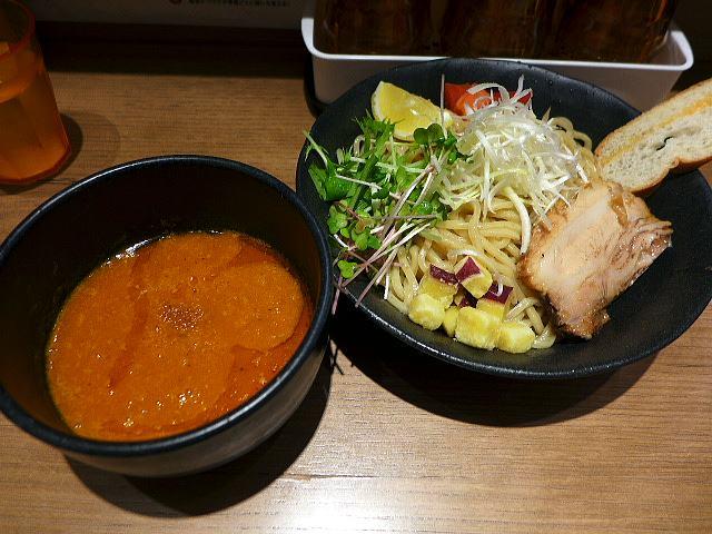 海老鶏麺蔵@01海老つけ麺 1